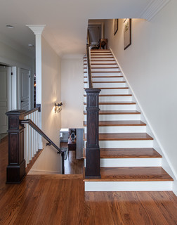 My Houzz: Upscale Townhome With A View In Downtown St. John's traditional-staircase