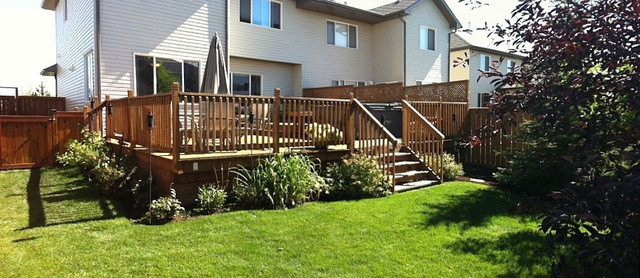 Backyard landscaping - Contemporary - Landscape - Calgary on Backyard Landscaping Near Me id=15408