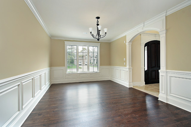 Wainscoting Height 9 Foot Ceiling