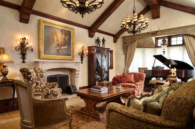 Tudor Living Room Ideas | www.elderbranch.com