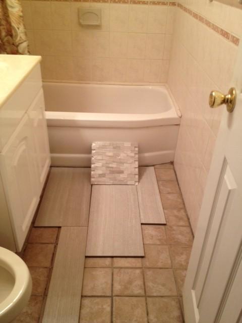 Small Bathroom Tile Choice And Layout