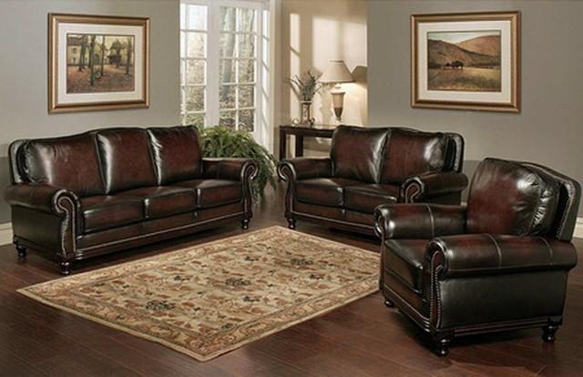 Leather Sofa With Wood Trim Ua1411 Beige Bonded Leather