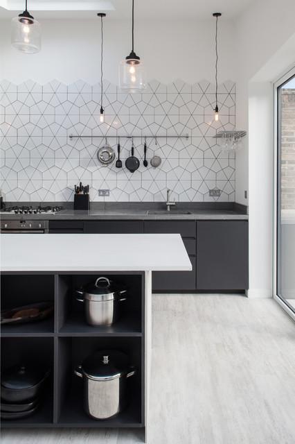Open-Plan Kitchen Diner Extension contemporary-kitchen