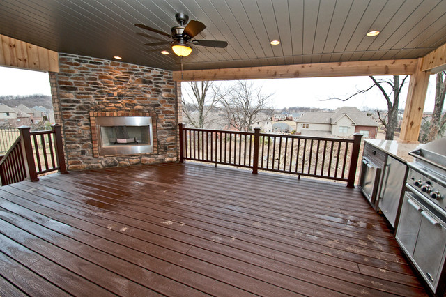 Covered Deck/ Outdoor living area on Covered Outdoor Living Area id=63757