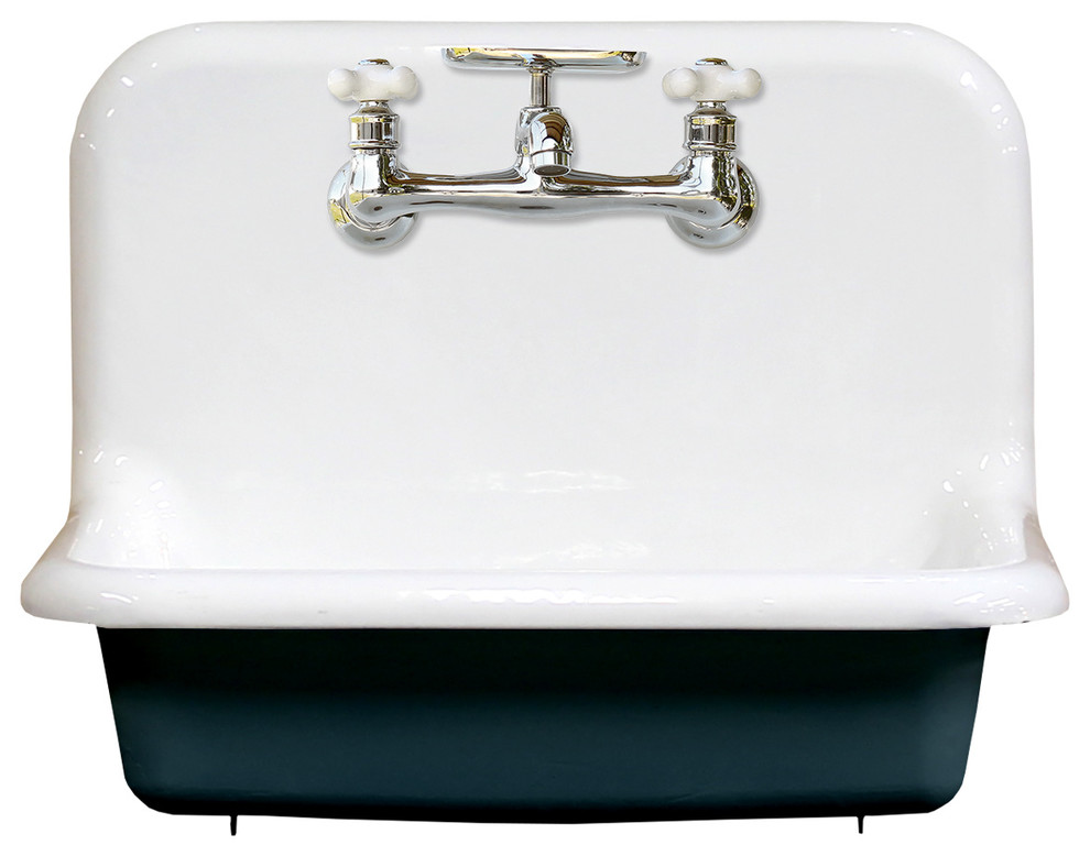 new wall mount cast iron utility sink