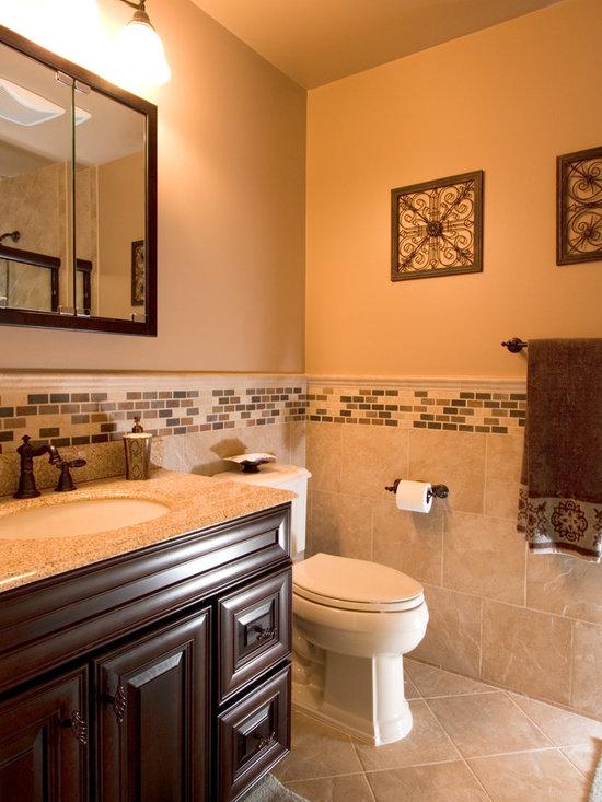 Traditional Small Bathroom Bathroom Design Ideas, Pictures ... on Bathroom Remodel Design Ideas  id=59880