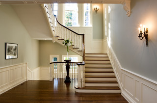 Toronto Restoration traditional-staircase