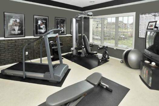 Whole House Makeover Contemporary Home Gym