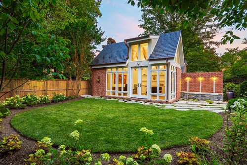 gorgeous landscaping around shed ideas