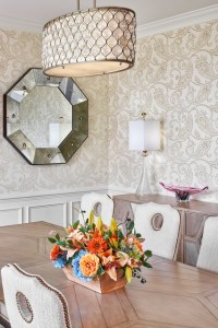 Stunning Dining Room   Traditional   Dining Room   DC Metro   by     Grace Thomas Designs      Interior Designers   Decorators  Stunning Dining  Room traditional dining room
