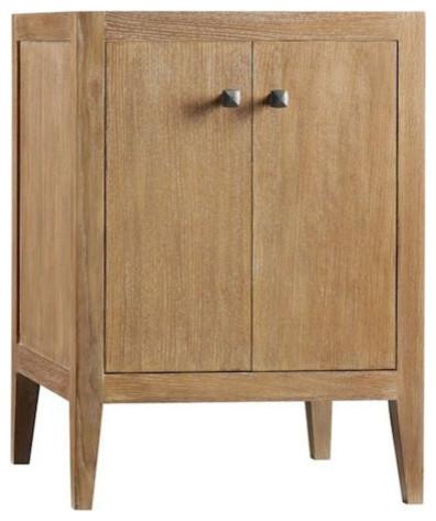 "ronbow sophie solid wood 30"" vanity cabinet base, american walnut"