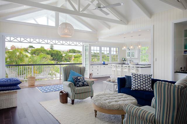 Hampton Style Interior Design Beach Style Brisbane
