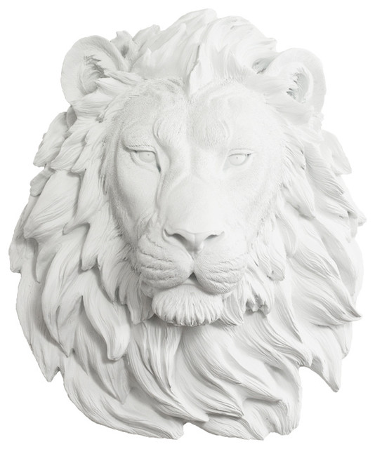 Lion Head For Wall Hanging Ornament Decor Home Decoration Art
