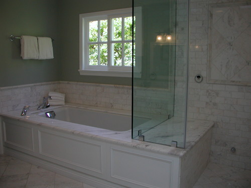 What Is The Height Of The Tub Backsplash And The Surround
