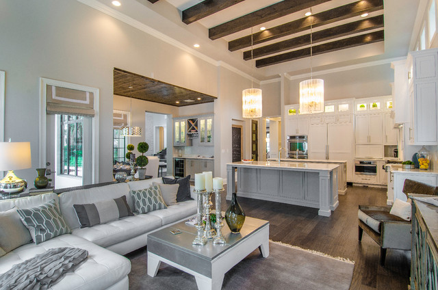 Transitional Home by Trend Interior Design transitional-family-room