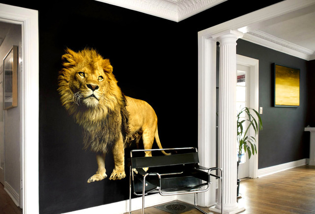 Lion Within A Frame