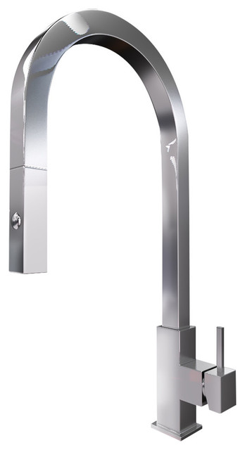 amazon commercial grade brushed stainless steel faucet pull down spray