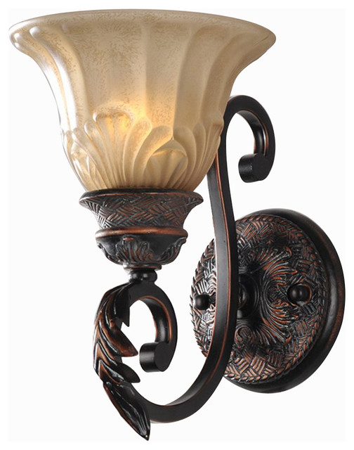 Antique Finish Iron Wall Sconce Lighting Glass Shade ... on Victorian Wall Sconces id=16716