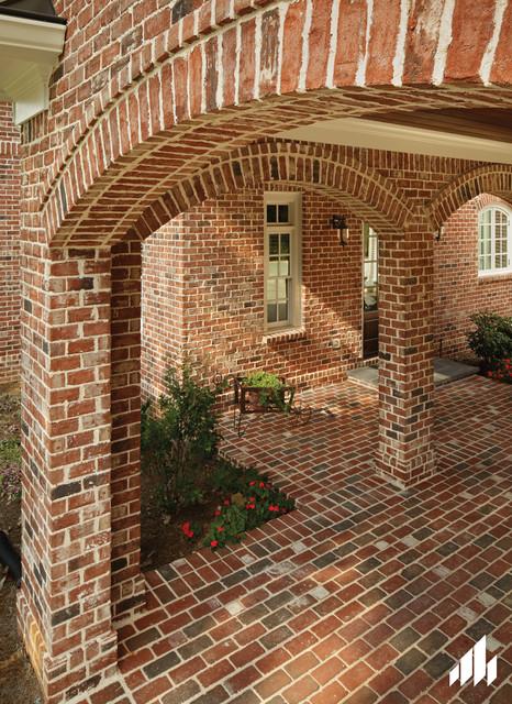 Old Georgian Tudor Brick Home Georgia Traditional
