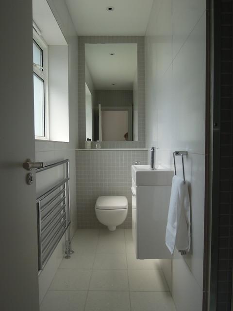 Small bathrooms - Modern - Bathroom - London - by Slightly ... on Bathroom Ideas Modern Small  id=13652
