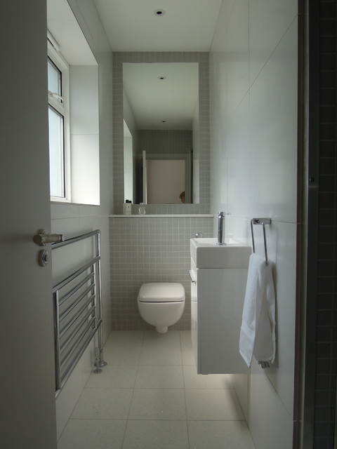 Small bathrooms - Modern - Bathroom - London - by Slightly ... on Modern Small Bathroom  id=71808