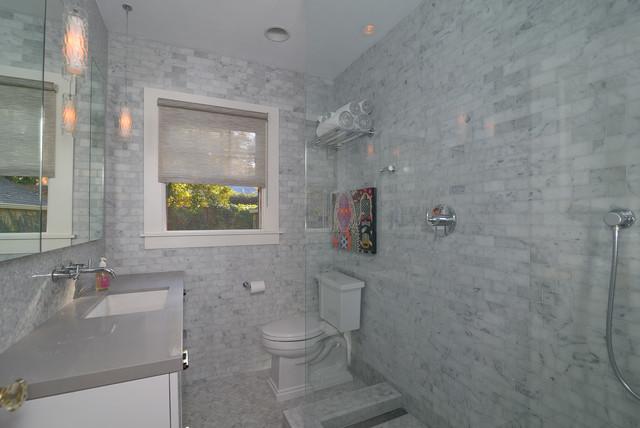 Carrera Marble Bathing Beauty Modern Bathroom