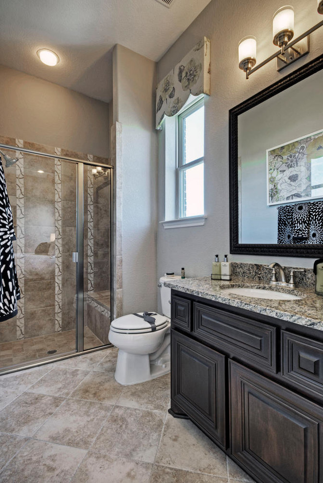 Toll Brothers Plano, TX Model - Contemporary - Bathroom ... on Model Toilet Design  id=71666