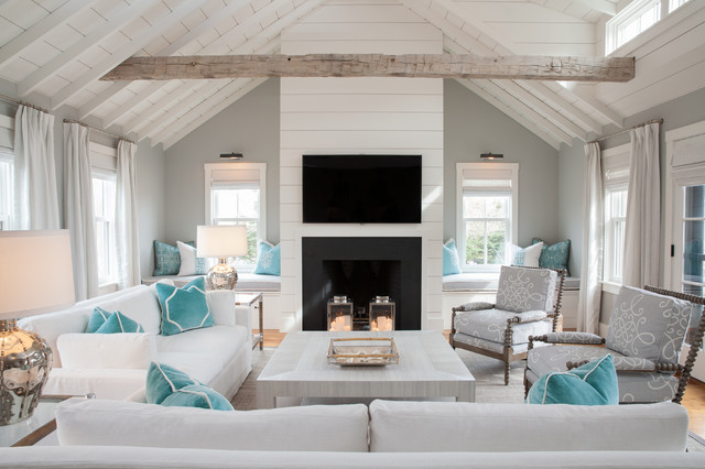 Image result for gray beach living room