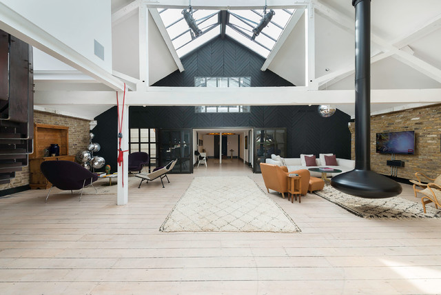 Warehouse Conversion Apartment London Living
