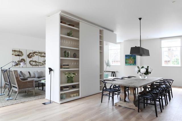 Siete in cerca di soluzioni per dividere la cucina dal soggiorno? Guida Houzz 9 Soluzioni Per Dividere La Cucina Dal Soggiorno