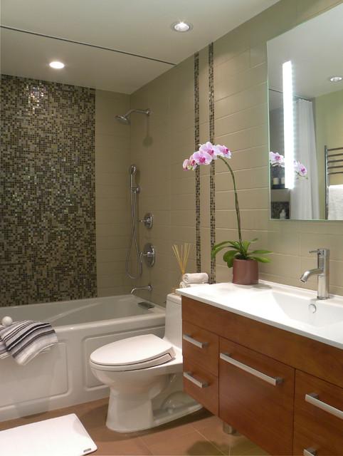 Small Bath Remodel - Contemporary - Bathroom - Orange ... on Modern Small Bathroom Remodel  id=42905