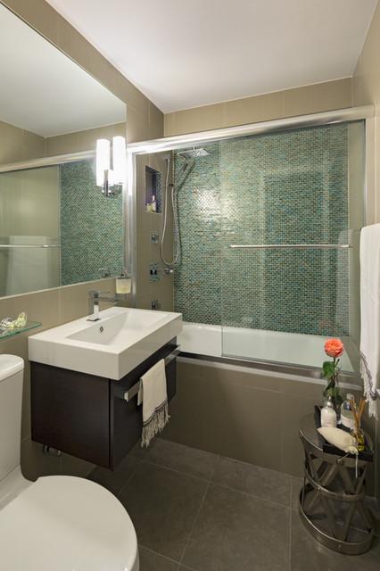 Apartment Renovation in Manhattan - Modern - Bathroom ... on Apartment Bathroom  id=92647