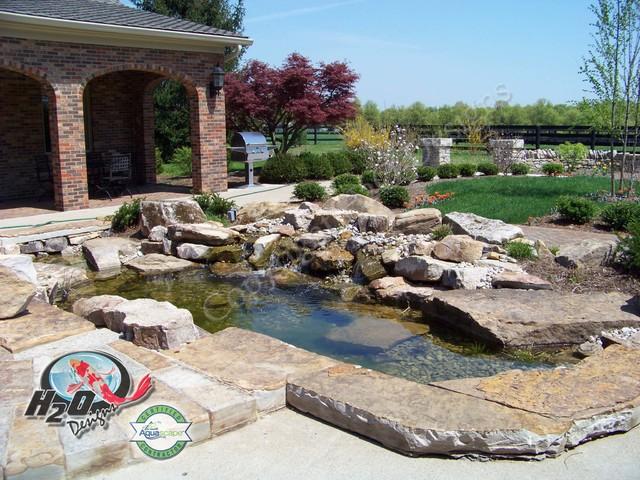 KOI Pond, Backyard Pond & Small Pond Ideas for your ... on Backyard Koi Pond Designs  id=20882