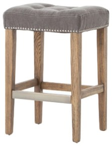 Ashford Sean Counter Stool, Dark Moon Canvas