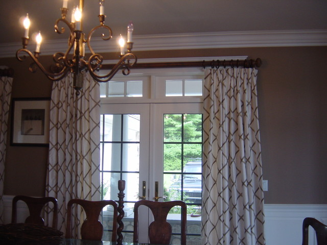 Home in Kingston, MA - Traditional - Dining Room - Boston ... on Dining Room Curtains  id=15745