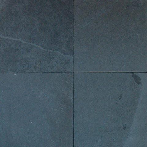 gauged montauk black slate tile sample