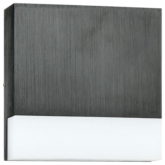 Matteo Lighting Meeko Wall Sconce, Aluminum - Contemporary ... on Ultra Modern Wall Sconces id=93210