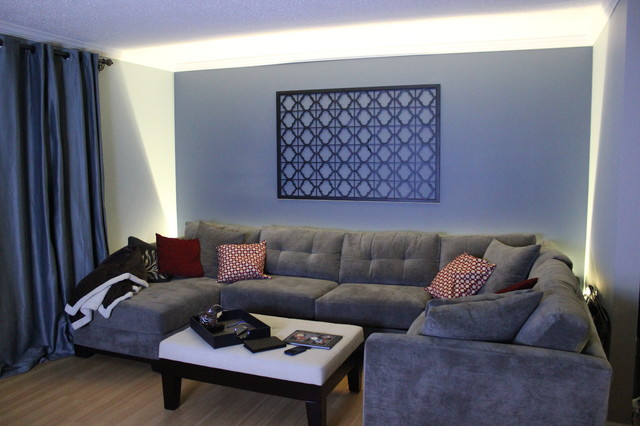 Inspired LED Accent Lighting - Living Room Wall Wash ... on Wall Lighting For Living Room id=19353