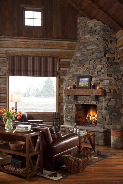 Building Rustic Cabin