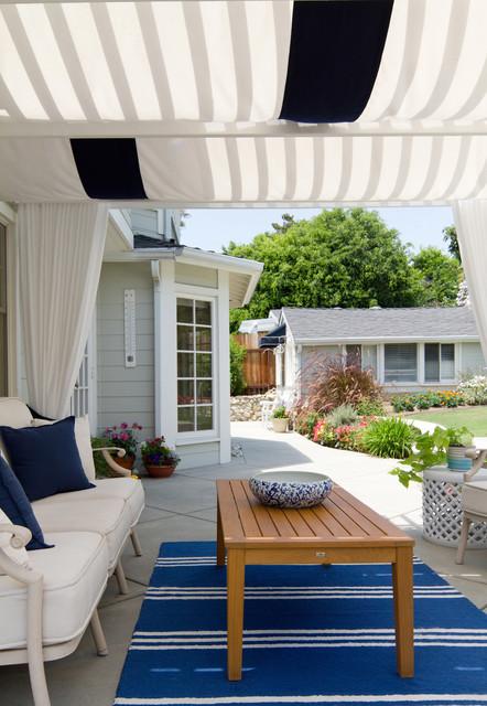 Coastal Patio - Beach Style - Patio - Los Angeles - by ... on Nautical Backyard Ideas id=78198