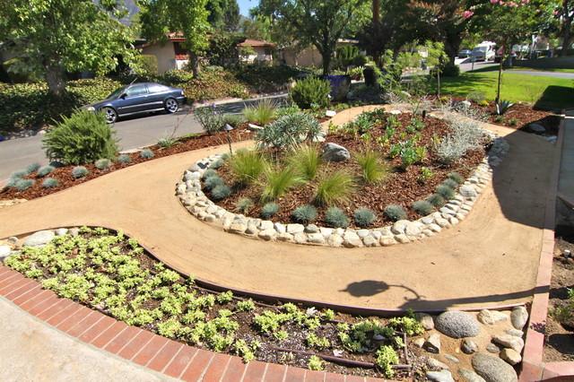 Grassless - Modern - Landscape - Los Angeles - by Dattola ... on Grassless Garden Ideas  id=68802
