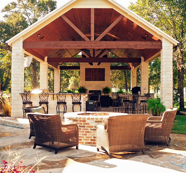 McBeth outdoor living - Traditional - Patio - Houston - by ... on Outdoor Living And Patio id=82204