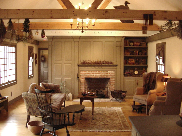 CCH Interiors Gallery Traditional Family Room