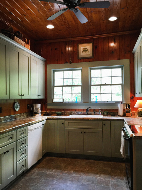 Rustic Cabin Kitchen rustic-kitchen