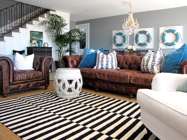 Amazing Ideas Brown Leather Living Room 21 Rooms With Dark Couches Axiom