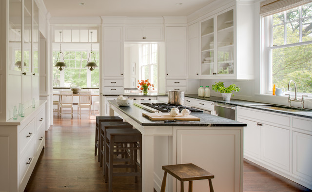 American Revival traditional-kitchen
