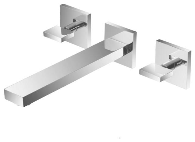 isenberg 160 2450 two handle wall mounted bathtub faucet filler chrome