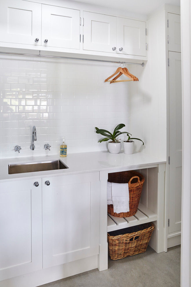 cheyne walk traditional laundry room sydney by on laundry room wall covering ideas id=25449