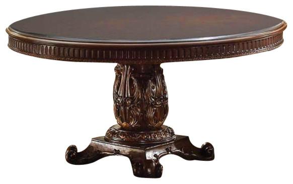 "Vendome Round Cherry Dining Table, 60"" Diameter"