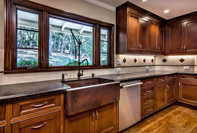 native trails copper farmhouse sink traditional on kitchens with farmhouse sinks id=41370